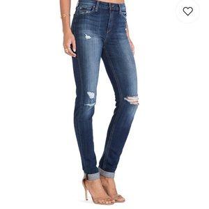 Joes Jeans RIRi high rise skinny distressed